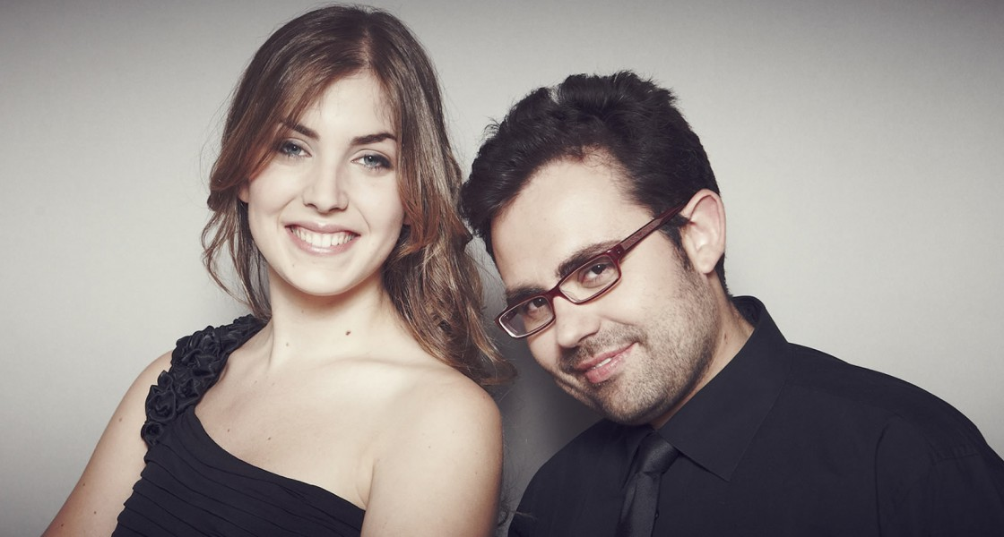 Manuel Tévar e Laura Sierra