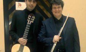 Repertorio barocco per flauto e chitarra Luca Magni e Domenico Famà