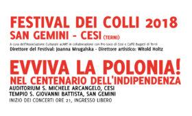 Festival dei Colli 2018 – Il programma